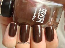 NEW! Sally Hansen Complete Salon Manicure nail polish BRANCH OUT #307 Brown Shim