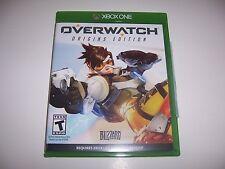 Original Box Case for Xbox One 1 Overwatch Origins Edition *NO GAME*