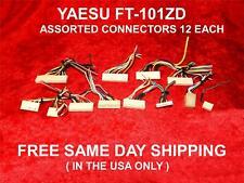 Yaesu FT-101ZD ASSORTITI CONNETTORI 12 ogni difficili da trovare GRATIS SPEDIZIONE IN GIORNATA