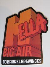 BEER STICKER ~ 10 Barrel Brewery Hella Big Air Ski Event at Copper Mtn, COLORAD0
