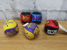 5 VINTAGE 1999 WCW / NWO WWE Play by Play Wrestling  JUGGLING Balls (h3)