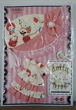 * WOW! DOLLYKISS PINK POLKA DOT BONNET DRESS SET * BLYTHE * PULLIP * NEW *