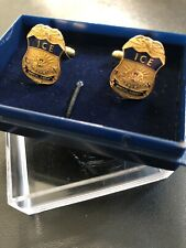 ICE Special Agent US Diplomatic Security Services Pair of CUFFLINKS