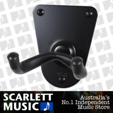 CPK Guitar Wall Hanger Flush Metal Base Screw Mount Black *NEW* Holder