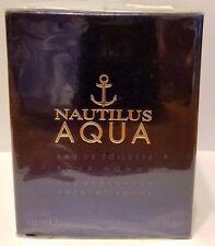 Nautilus Aqua by Nautilus For Men 3.3 oz / 100 ml EDT Spray New In Sealed Box