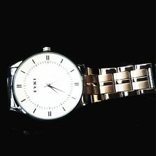 EYKI OVERFLY LUXURY MEN'S SLIM STYLE WHITE DIAL WATCH W8459AGW