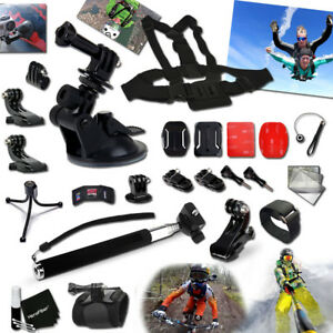 Xtech® for GoPro HERO4 Hero 4 Silver Edition Camera Essential Accessory Kit