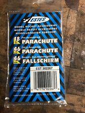 Estes 18'' Model Rocket Parachute - Pre-Assembled - #302267