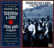 Ukrainian & Lemko String Bands In America [Box] by Various Artists (CD, Nov-2011, 4 Discs, JSP (UK))