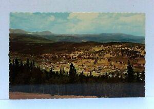 Nederland Colorado Panoramic View Head Of Boulder Canon Postcard