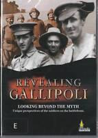 Revealing Gallipoli Australian DVD Documentary Anzac Day History Channel