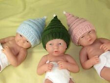 PRINTED KNITTING INSTRUCTIONS -PREEMIE & NEWBORN BABY LITTLE STAR CHRISTMAS HAT