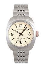 Rudiger Men's R5001-04-013.7 Siegen Stainless Steel Bracelet Beige Dial Watch