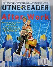 UTNE READER MAY-JUNE 1995 BEST ALTERNATIVE PRESS AFTER WORK CENSORED STORIES