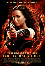 Hunger Games Catching Fire Movie Poster fea. Jennifer Lawrence 24x36