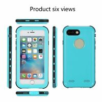 Redpepper IP68 Waterproof Case Hybrid Cover Screen Protector for iPhone 7 Plus