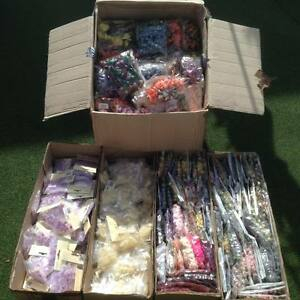 Job lot 10 bunches Paper Flowers, Roses, Embellishments, Wedding - UK seller