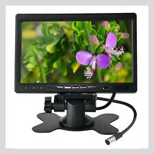 "7"" TFT Color LCD Display Monitor 2 Video Input Car Rear View Headrest VCR DVD UP"