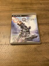 Vanquish Sony Playstation 3 PS3 USA Sega 2010 Complete CIB Cleaned Good Disc
