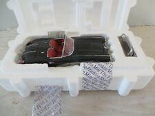 New ListingFranklin Mint 1958 Chevy Corvette Convertible Black w/ Hang Tag