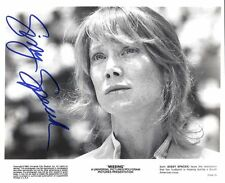 """SISSY SPACEK AUTOGRAPHED SIGNED 8X10 PUBLICITY PHOTO """" MISSING"""" WITH COA"""