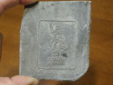 Vintage Letter Press Printing Block Dutch Boy Products Paint Unused/Unmounted