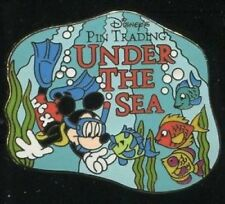 Disney Pin: DCL Pin Trading Under the Sea - Gift Pin Bag Pin #1 (Mickey)
