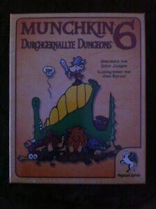 Munchkin 6 Durchgeknallte Dungeons - Kartenspiel von Pegasus - NEU - OVP