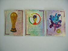 Panini: WM / WC Korea - Japan 2002, Sticker 1 + 2 + 3, rar !!!