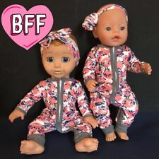 "17"" Dolls Clothes fits Luvabella fits Baby  Born Dolls. Dolls outfit."