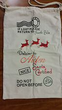 CUSTOM NAME PERSONALISED SANTA SACKS CHRISTMAS