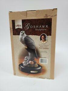 Wild Wings Goshawk Sculpture By Phil Galatas in Original Box