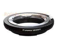"Leica M Lens to Canon RF Mount EOS R EOS RP Mirrorless Camera Adapter ""US Seller"