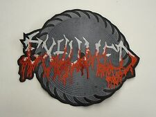 EXHUMED GORE METAL EMBROIDERED BACK PATCH