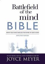 Battlefield of the Mind Bible: Renew Your Mind Through the Power of God's Wor...