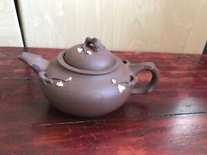 antik teekanne Aus Ton, Chinesische Kultur ,Handarbeit