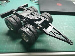 Tamiya 1/14 Semi Tractor Trailer 2 Axle Dolly Pin Coupler Kit.