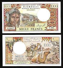 Djibouti 1000 Francs 1988 , UNC , P-37e
