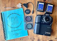 RARE Kodak DCS 420 CIR Color Infrared Camera Lens Aerial Manual Filters USFS