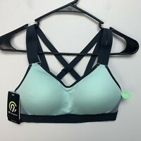 C9 By Champion Power Shape Sports Bra Duo Dry Size S (32BC, 34B) Molded Cups