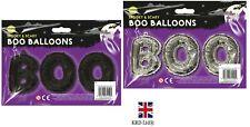 Halloween Balloons BOO Foil Balloon Garland Trick Treat Party Decor G1159 UK