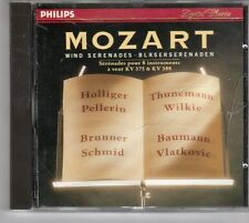 (ES560) Mozart, Wind Serenades - 1988 CD