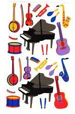 MRS GROSSMANS MUSICAL INSTRUMENTS STICKER SHEET BN & NLA