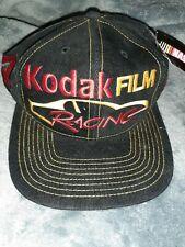NWT VINTAGE KODAK FILM RACING Bobby Hamilton #4 STRAP BACK HAT