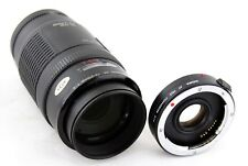 Canon Zoom Lens EF 70 - 210mm & Sigma AF Tele Converter X 1.4 MC for Canon