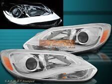 12-14 Ford Focus Sedan Hatchback Eagle Eyes Chrome Projector Headlights