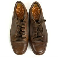 Timberland Men's Smart Comfort Brown Leather Lace Up Casual Shoes Size 12