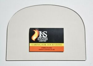 Stovax Huntingdon 35 Replacement Stove Glass 390 x 305mm - GLASS ONLY