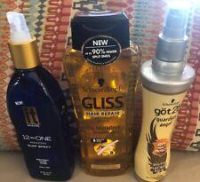 3-Lot Of Hair Products 2-Schwarzkopf 1-got2b Hair Protect 1-Hair Repair Shampoo+