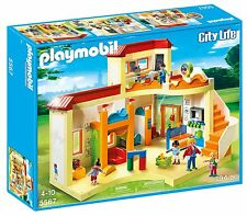 School Nursery Playmobil City 4 Figures and Accessories (5567) blackboard clock